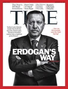 Erdoğan ünlü TIME Dergisine kapak oldu